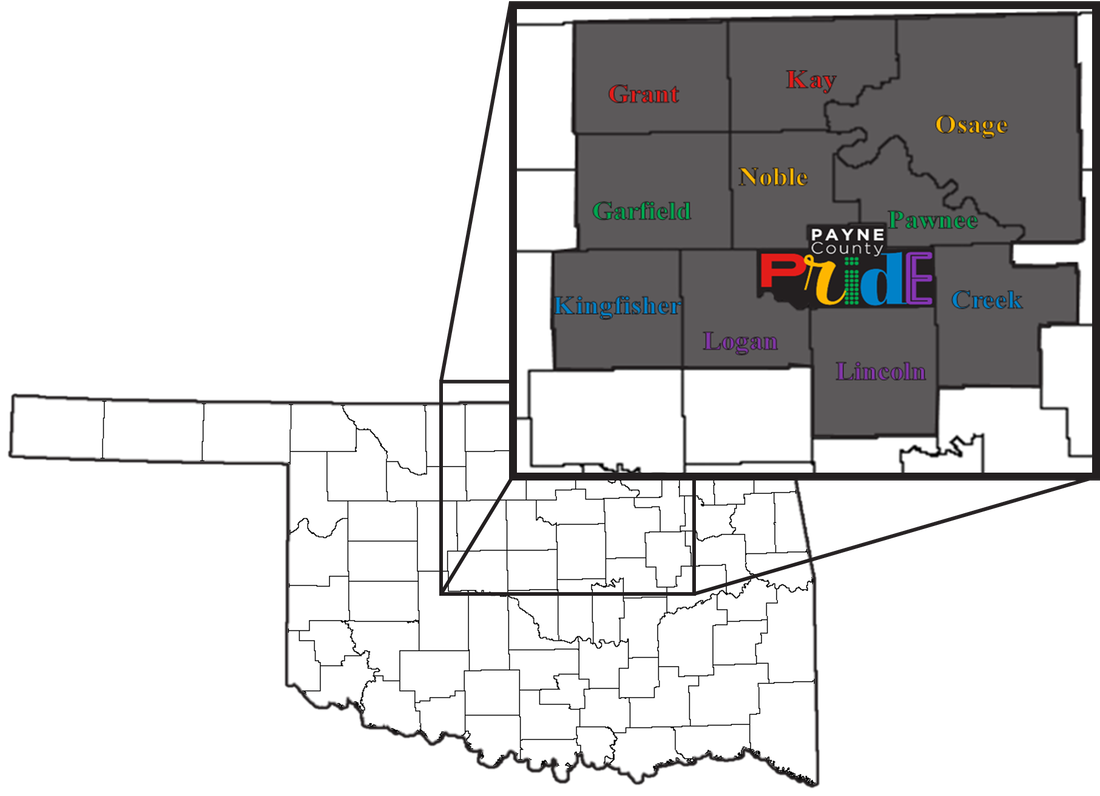 Northern OK highlighted and in a callout box